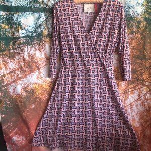 Leota print dress